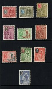 Ecuador 1948 Franklin D. Roosevelt, two of four freedoms  MNH  Sc 509-13, C193-7
