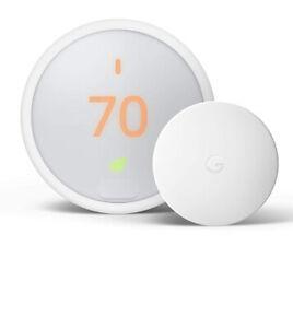 (MA1) BRAND NEW Google Nest Thermostat E - Nest Pro Edition White - Model A0063