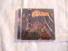 "Saxon ""Live at Donnington 1980"" 1997 cd Angelair Rec. New Sealed"