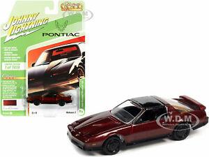 1984 PONTIAC FIREBIRD T/A RED MET. 1/64 MODEL JOHNNY LIGHTNING JLCG025-JLSP148 B