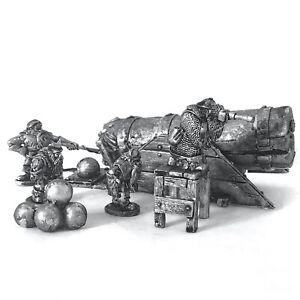 Dwarf Cannon 28mm Unpainted Metal Wargames