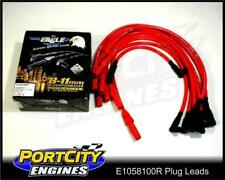Eagle Spark Plug Leads 10.5mm Holden V8 RED Commodore VC VH VK VL E1058100R