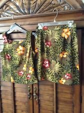 S.L.Fashions Tropical, Cruise, Floral print 2 piece skirt & matching top size 8P