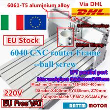 【FRA】 6040 Desktop Aluminium Metal Engraving Wood Milling Machine CNC Router Kit