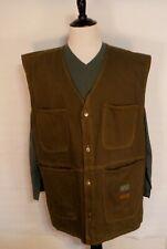 Vintage 90s Negro League Baseball Museum Green Long Vest Mens Size 2XL XXL
