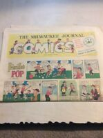 Sunday Comics Newspaper Section MILWAUKEE Journal - Sept 18 1960