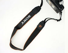 NEW Alpha Genuine Sony Neck Shoulder Strap for Sony A6500 A6300 A6000 A7RIII A77