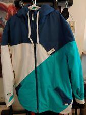Worn Once Oakley Entire XXL Snowboard Jacket Men's Loose Fit White Blue