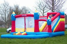 Bounceland Magic Kingdom 14ft inflables castillo hinchable con ventilador de flujo de aire