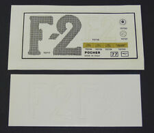 Pocher 1:8 Aufkleber Decals 1907 Fiat Grand Prix De France K70 70-77 B7