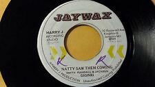 "Rare Roots - Ginginri /Natty Saw Them Coming /Reggae 45"" on Jaywax Label"