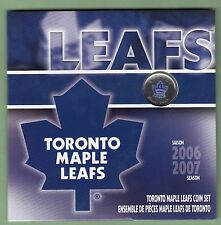 2006/2007 Toronto Maple Leafs Coin Gift Set - Commemorative 25 Cents