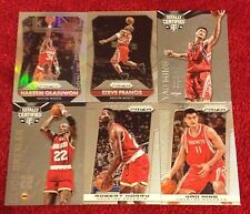 "Rockets <6 Pack> ""Greats"" Lot: Hakeem Olajuwon + Clyde Drexler + <Prizms> Silver"