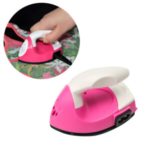 Portable Mini Electric Iron Travel College Crafting Craft Clothe Sewing Supplies