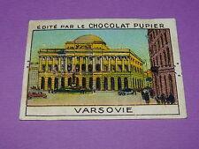 CHROMO CHOCOLAT PUPIER EUROPE 1932 POLOGNE VARSOVIE