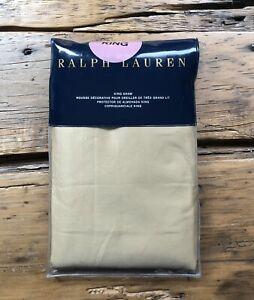Ralph Lauren RL 624 Solid Sateen KING Sham ~ POLISHED BRONZE ~ READ DESC.