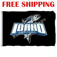 Idaho Steelheads Logo Flag ECHL Hockey League 2018 Banner 3X5 ft