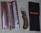 Kershaw vintage 3 blade takedown knife set NICE
