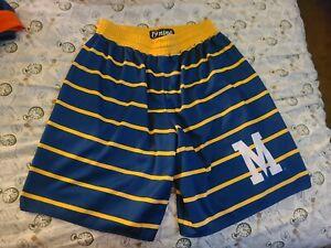 19Nine 19 Nine throwback vintage Marquette shorts 2xl xxl Golden Eagles Warriors