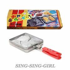 Taiyaki Japanese Fish-Shaped Waffle Pan Maker 2 Cast SING-SING-GIRL