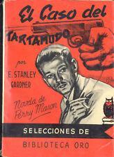 EL CASO DEL TARTAMUDO E. STANLEY GARDNER BIBLIOTECA ORO MOLINO 1950 TC12042 A6C2