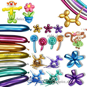 LONG MAGIC Balloon Different Colour Latex 260Q Traditional Modelling Toys baloon