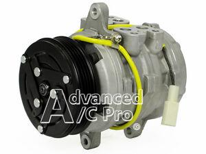 AC A/C Compressor Fits: 89 - 93 Geo Metro / 96 -98 Suzuki X90 L4 1.0L 1.3L 1.6L