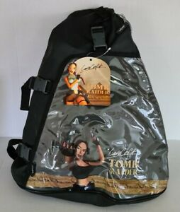 Tomb Raider Back Pack Official Core Design 1996-2000 Very Rare
