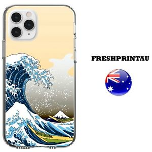 Silicone Case Cover Cool Art Ocean Waves Sea Abstract Colourful Tide Deep Anime