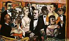 Paris Society Painting by Max Beckmann Reproduction