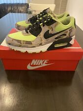 Nike Air Max 90 SP Ghost Green Duck Camo CW4039 300 Men US 9.5 Used.