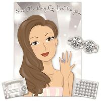 Hen Night Party Games - STICK THE RING ON HER FINGER - 35 players