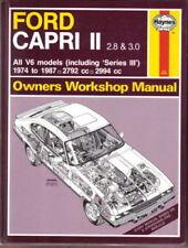Ford Capri Haynes Car Manuals and Literature