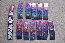 Lot Vintage Lisa Frank Stickers Glitter Hologram Sparkle Easter Bunny/Sheep/Eggs