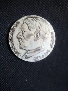 third reich hitler coin medal 1933