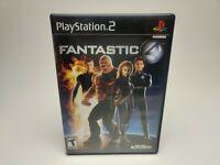 Fantastic 4 PS2 (Sony PlayStation 2, 2005) AB