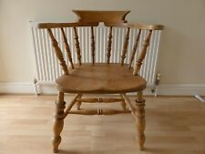 Antique Smokers bow elm and beech chair