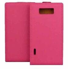 Premium Flip Case Tasche in pink für LG P700 Optimus L7 Etui Hülle Schutzcase