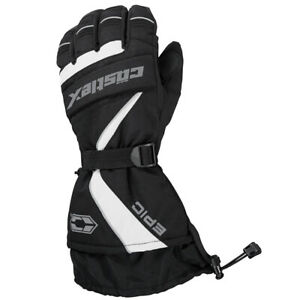 Mens Castle X EPIC Snowmobile Gloves Gauntlet Winter Snow Waterproof Windproof