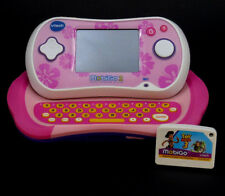 VTech MobiGo 2 Touch Learning System Pink Floral w/ Toy Story 3 Game Mobigo