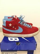 "Nike SB Blazer ""Vanilla Ice"" 11.5 Varsity Red, Blue-Wave 