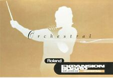 Roland SR-JV80 02 Orchestral for JV, JD series, XV5080, USED eu1b