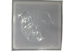 Bulldog Plaster or Concrete Stepping Stone Mold 1168 Moldcreations