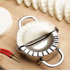 Envoltura de acero inoxidable hervida Maker Cortador de masa molde de tarta Ravioles Saco