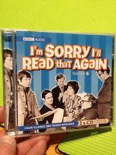 I'm Sorry I'll Read That Again:Volume 5 BBC Audio 2xCD John Cleese Graeme Garden
