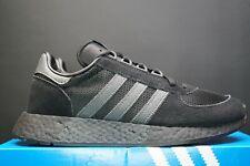 adidas Marathon Tech Core Black Trainers Sneakers Original Running Gym Shoes DS