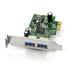 Dell Dual Port USB 3.0 with Low Profile Bracket PCIe x1 5D6X7 RA381E-1