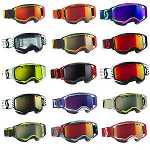 Scott USA Prospect Snowcross Goggles Dual Pane Anti Fog Lens Snowmobile