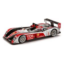 AUDI R 10 N.3 4th Le Mans 2008 1:43 Spark Model Auto Competizione Spark Model