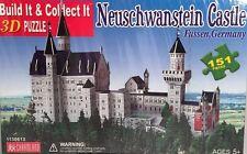New 3D Puzzle Neuschwanstein Castle Fussen Germany 151 pieces